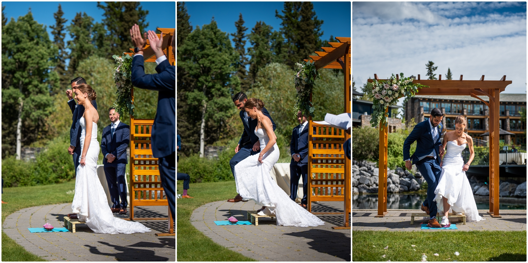 Calgary Azuridge Estate Hotel Wedding - Covid Friendly Wedding Venue