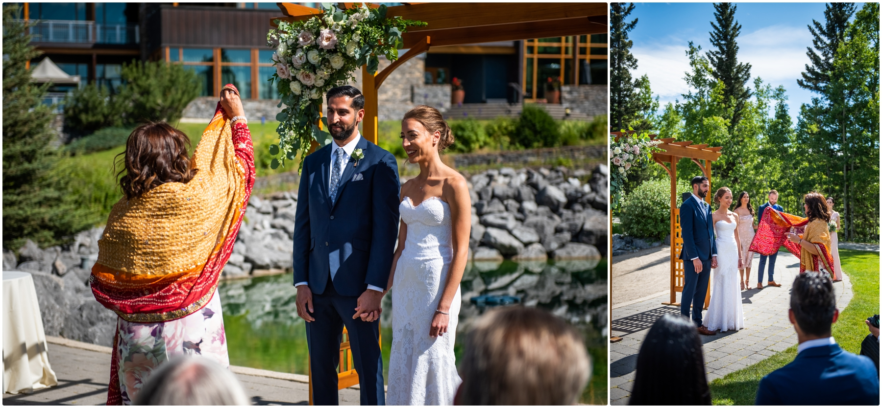 Calgary Azuridge Estate Hotel Wedding - Covid Friendly Wedding