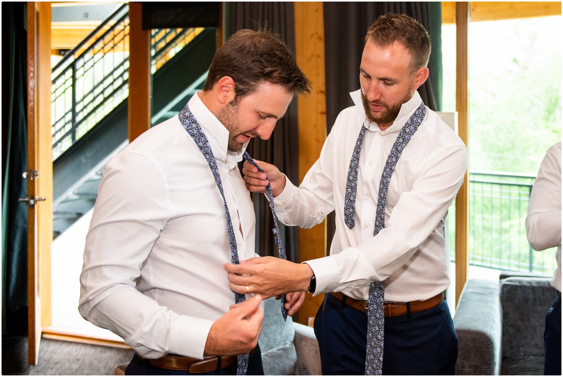 Calgary Azuridge Estate Hotel Wedding - Groomsmen Photos