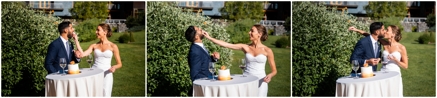 Calgary Azuridge Estate Hotel Wedding -Outdoor Reception Photographer