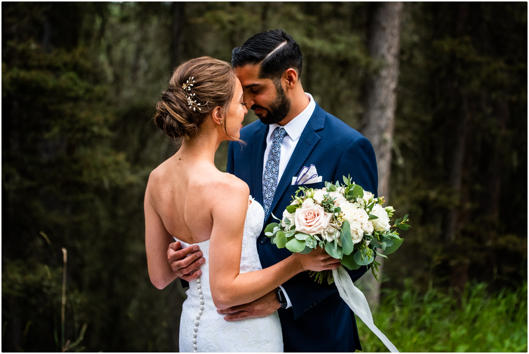 Calgary Azuridge Estate Hotel Wedding Photographer