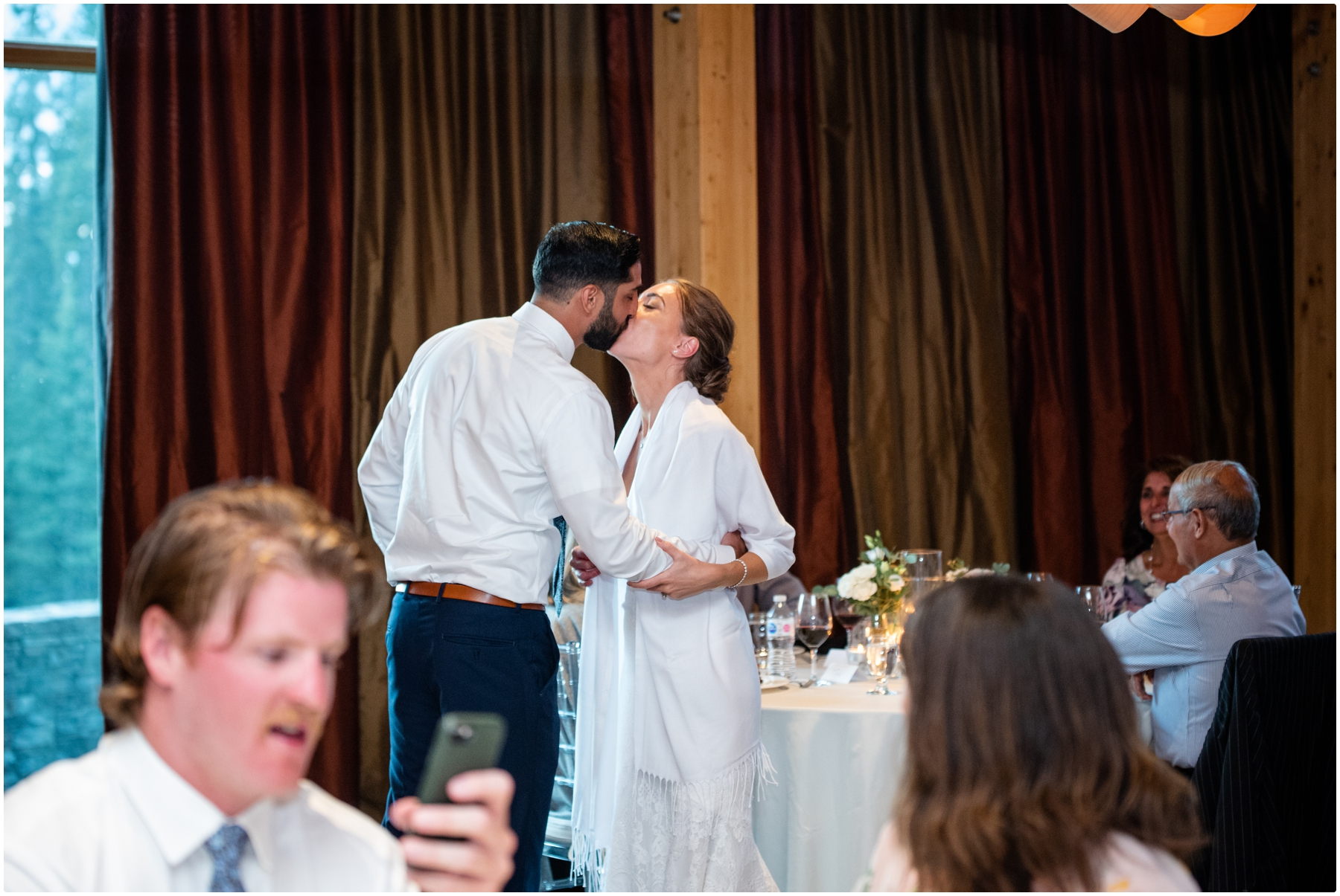 Calgary Azuridge Hotel Wedding Reception Photography
