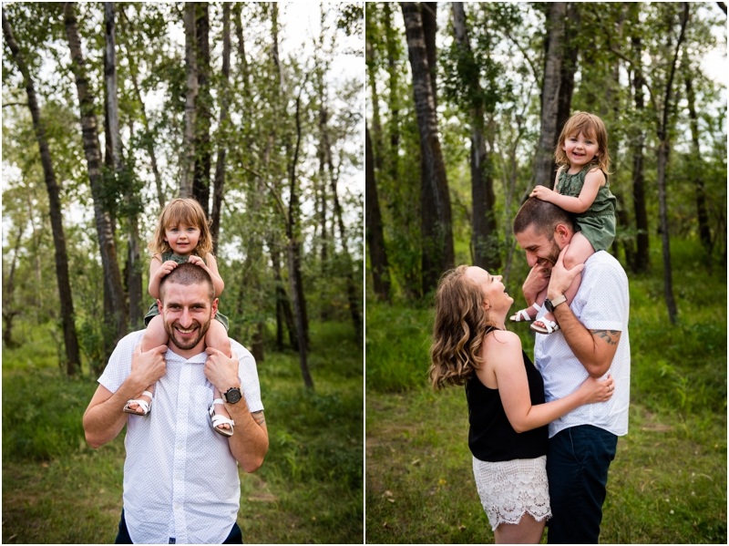 Calgary Carburn Park Family Photos