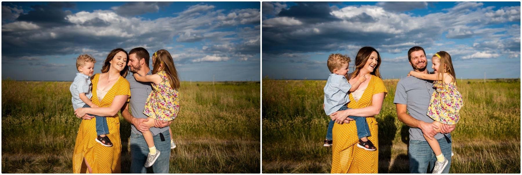 Calgary Family Photographers- Nose Hill Park Family Session