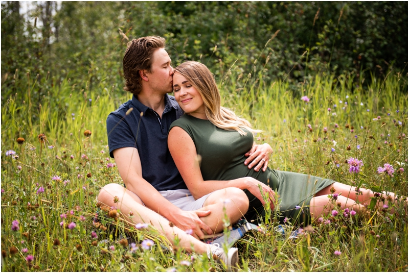 Calgary Maternity Session - Anne & Sandy Cross Conservatory