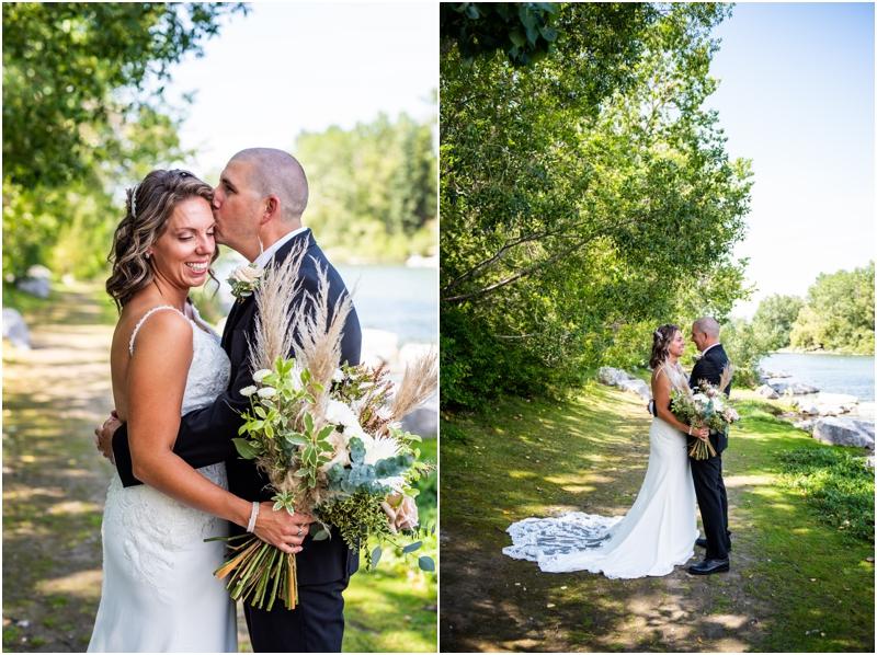 Calgary Prince's Island Park Wedding Photographer
