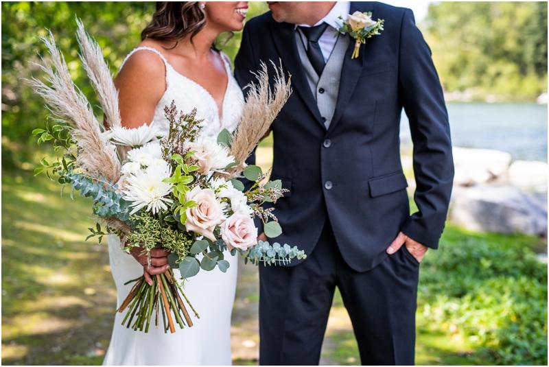 Calgary Prince's Island Park Wedding Photographers