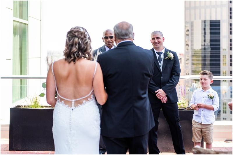 Calgary Sharaton Eau Claire Wedding Ceremony Photographers