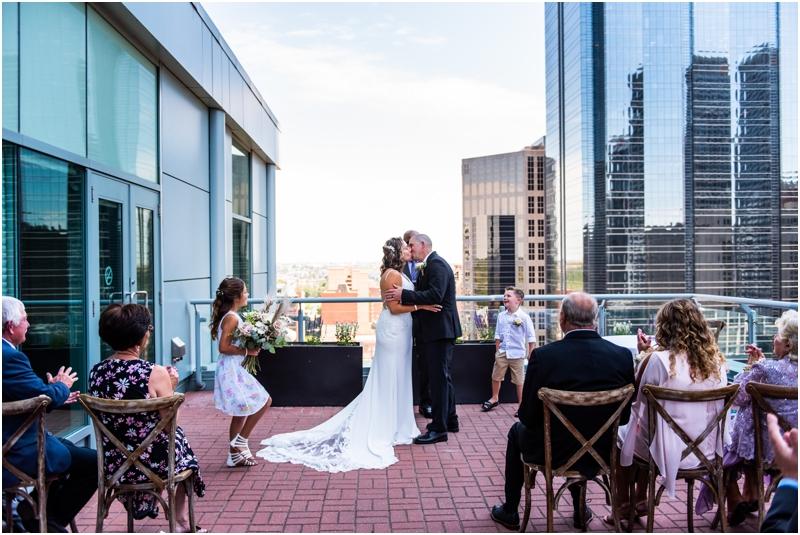 Calgary Sheraton Eau Claire Wedding Ceremony