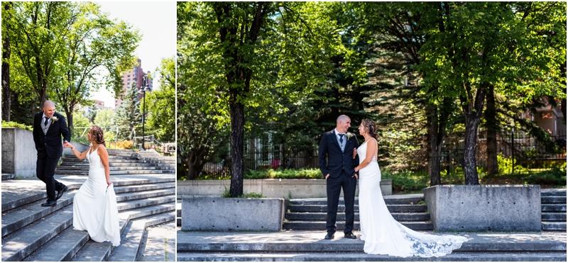Calgary Wedding Photos - Calgary Sheraton Eau Claire