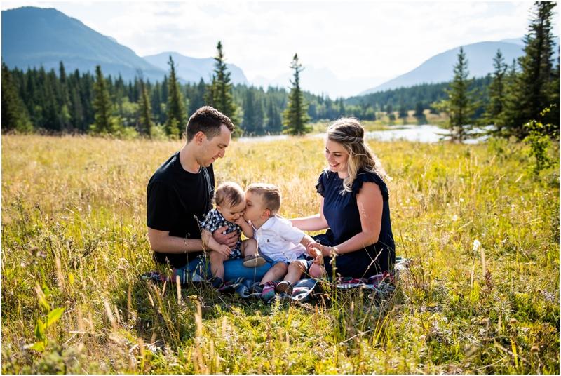 Kananaskis Family Photography - Middle Lake