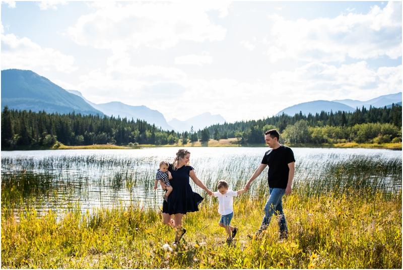 Middle Lake Family Photography Kananaskis
