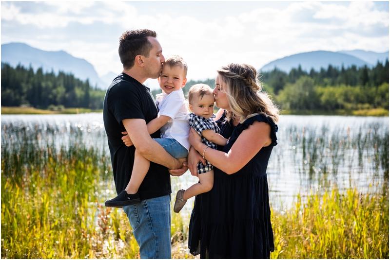 Middle Lake Family Photos Kananaskis