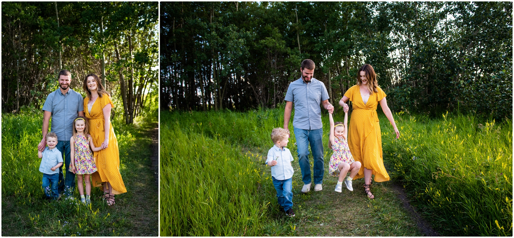Nose Hill Park Family Photographers