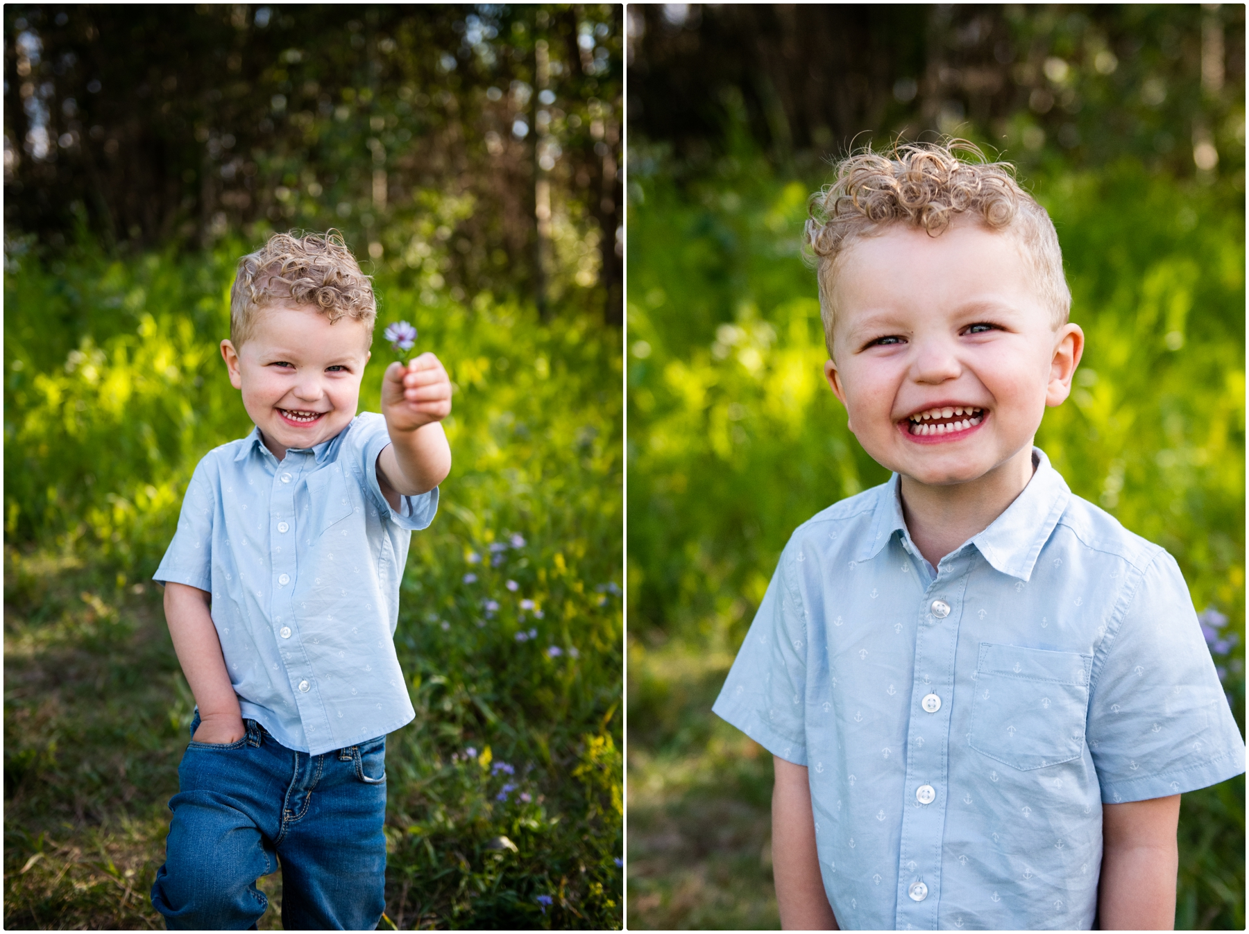 Nose Hill Park Family Photography