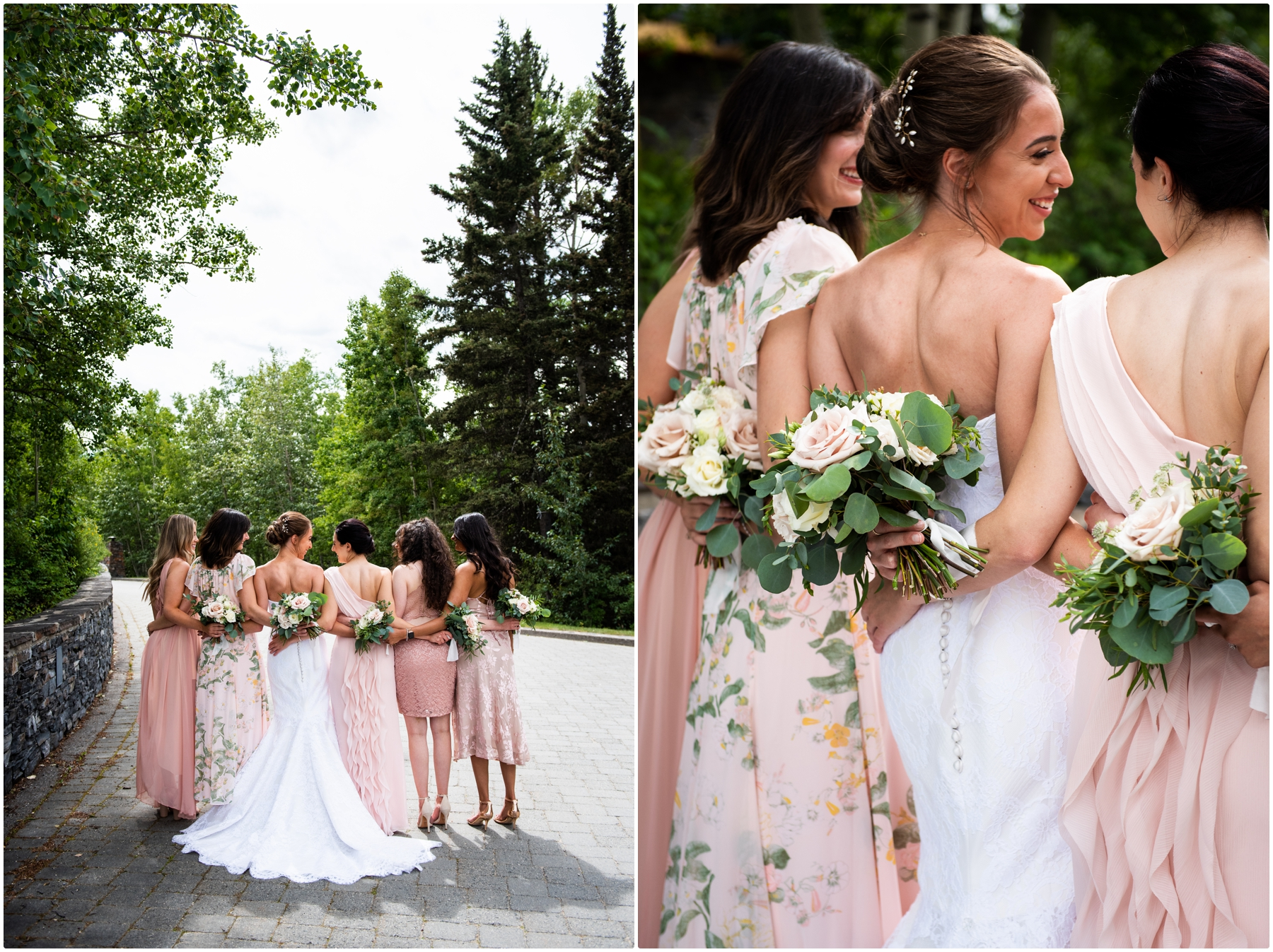 Priddis Azuridge Estate Hotel Wedding - Bridesmaid Photos
