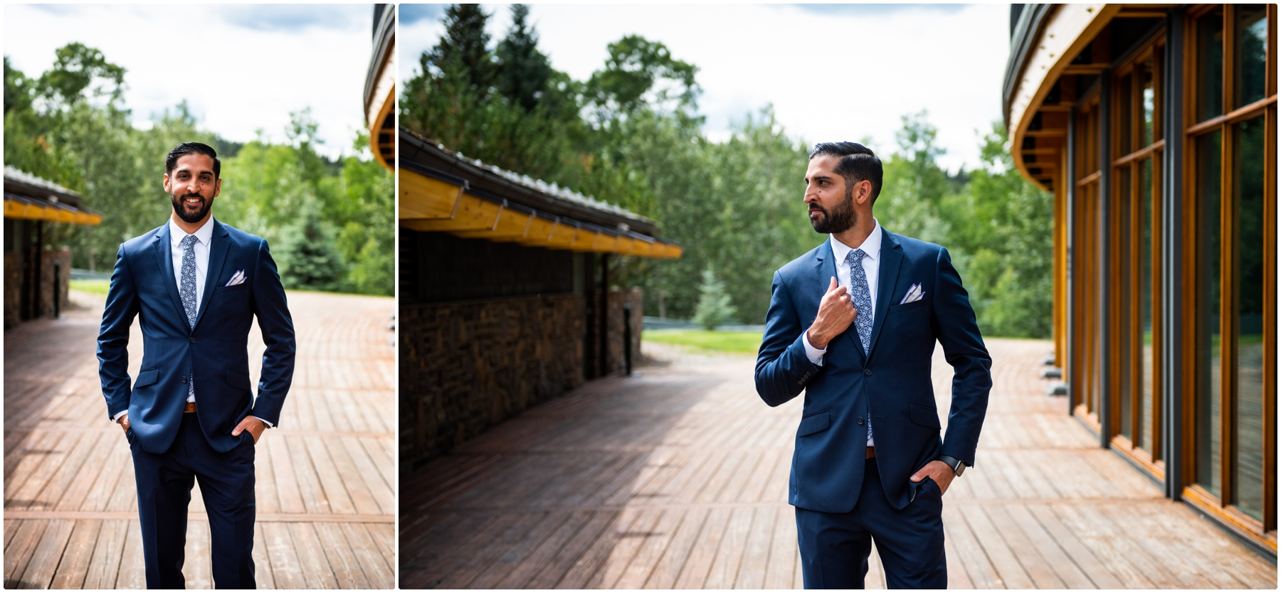 Priddis Azuridge Estate Hotel Wedding - Groom Portrait
