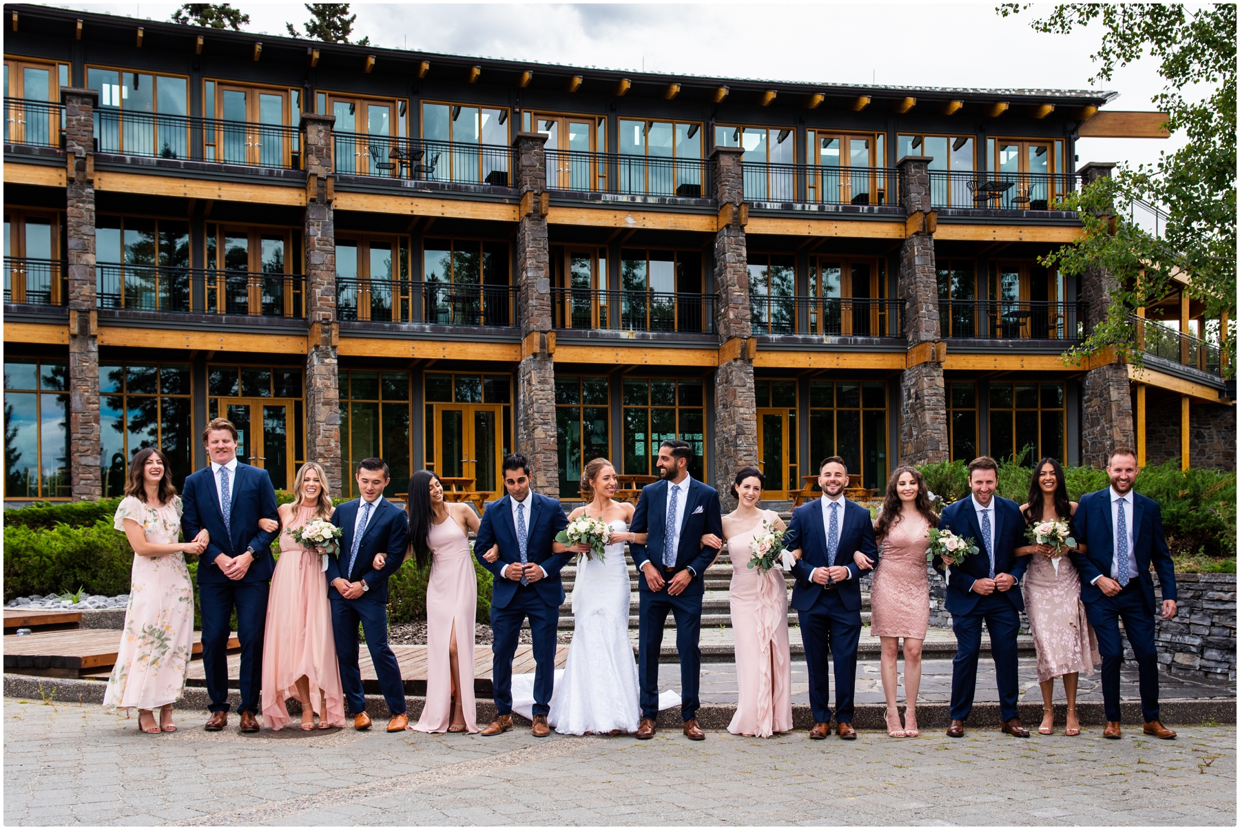 Priddis Azuridge Estate Hotel Wedding - Wedding Party Portrait