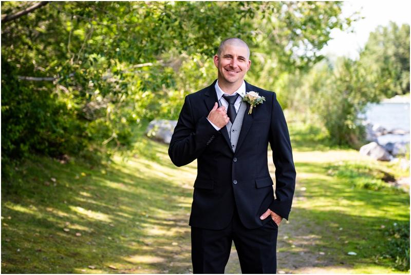 Prince's Island Park Wedding Photographer Calgary Alberta