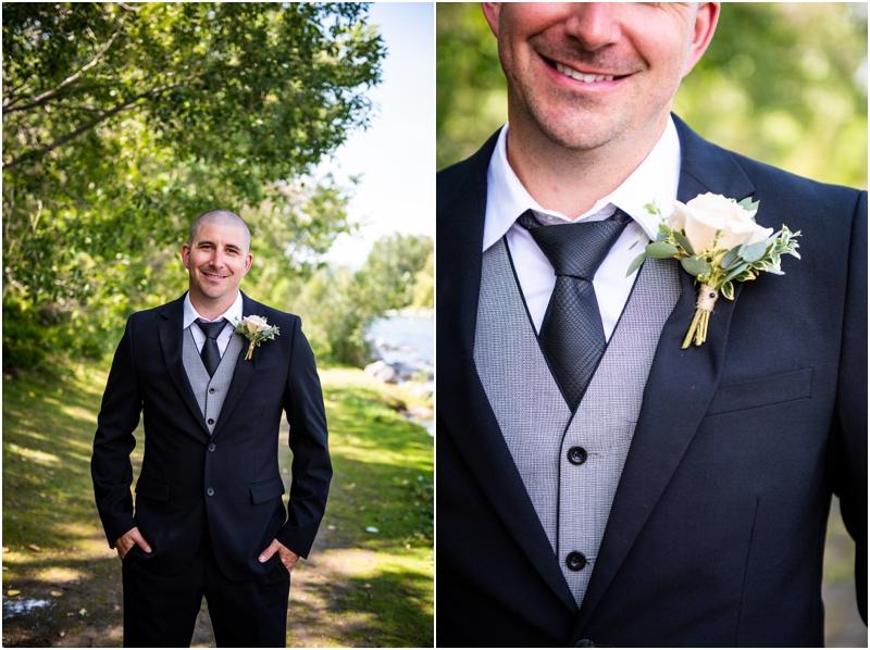 Prince's Island Park Wedding Photography Calgary Alberta