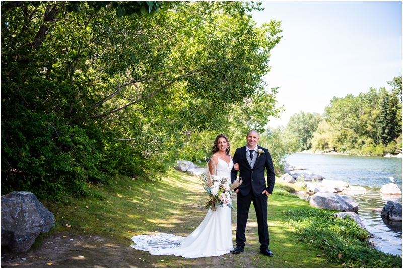 Prince's Island Park Wedding Photography Calgary
