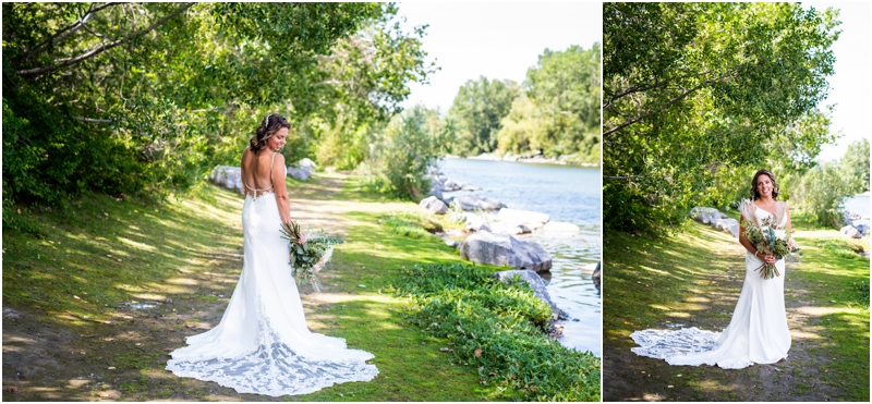 Prince's Island Park Wedding Photos Calgary