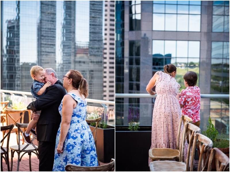 Sheraton Eau Claire Wedding Ceremony Photographers Calgary