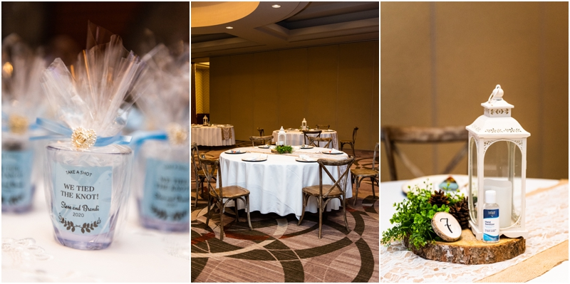 Sheraton Eau Claire Wedding Reception Photography