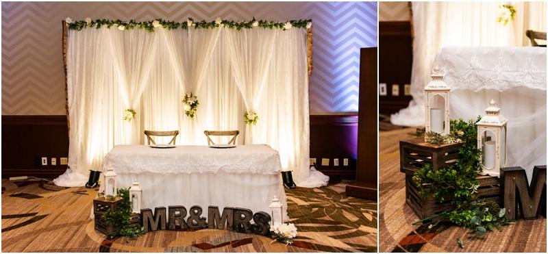Sheraton Eau Claire Wedding Reception Photos
