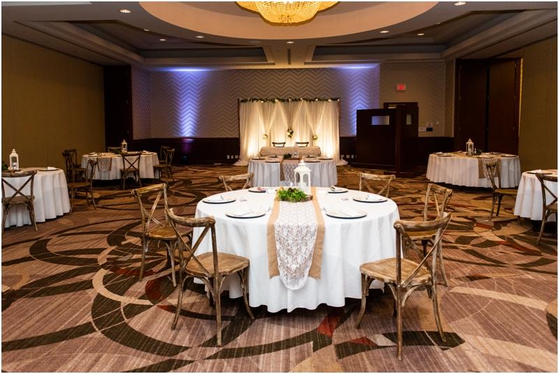 Sheraton Eau Claire Wedding Reception