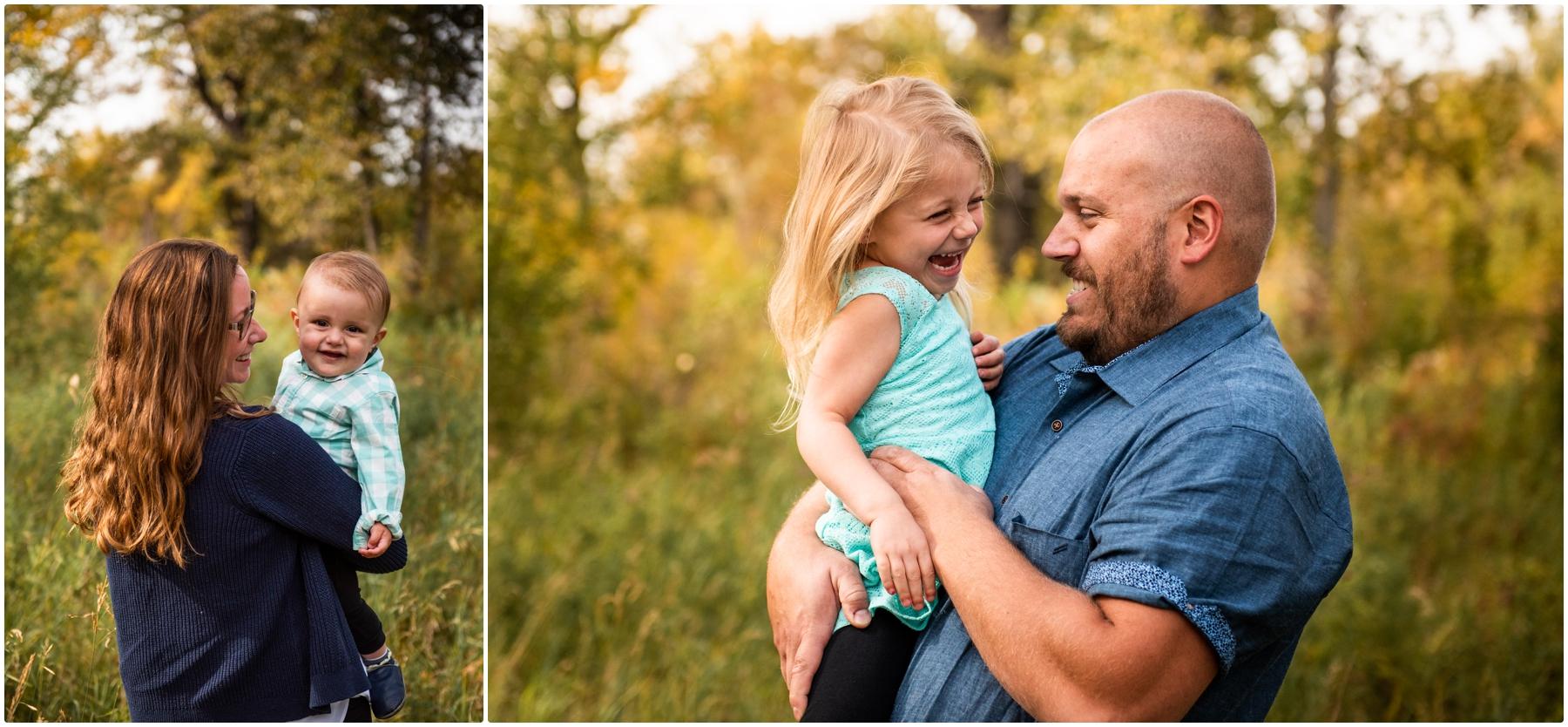 Calgary Alberta Autumn Pearce Estate Park Family Photographers