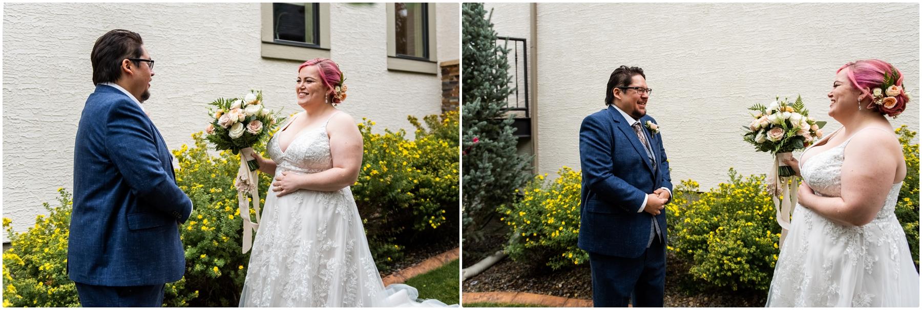 Calgary Alberta Intimate Wedding Photographer