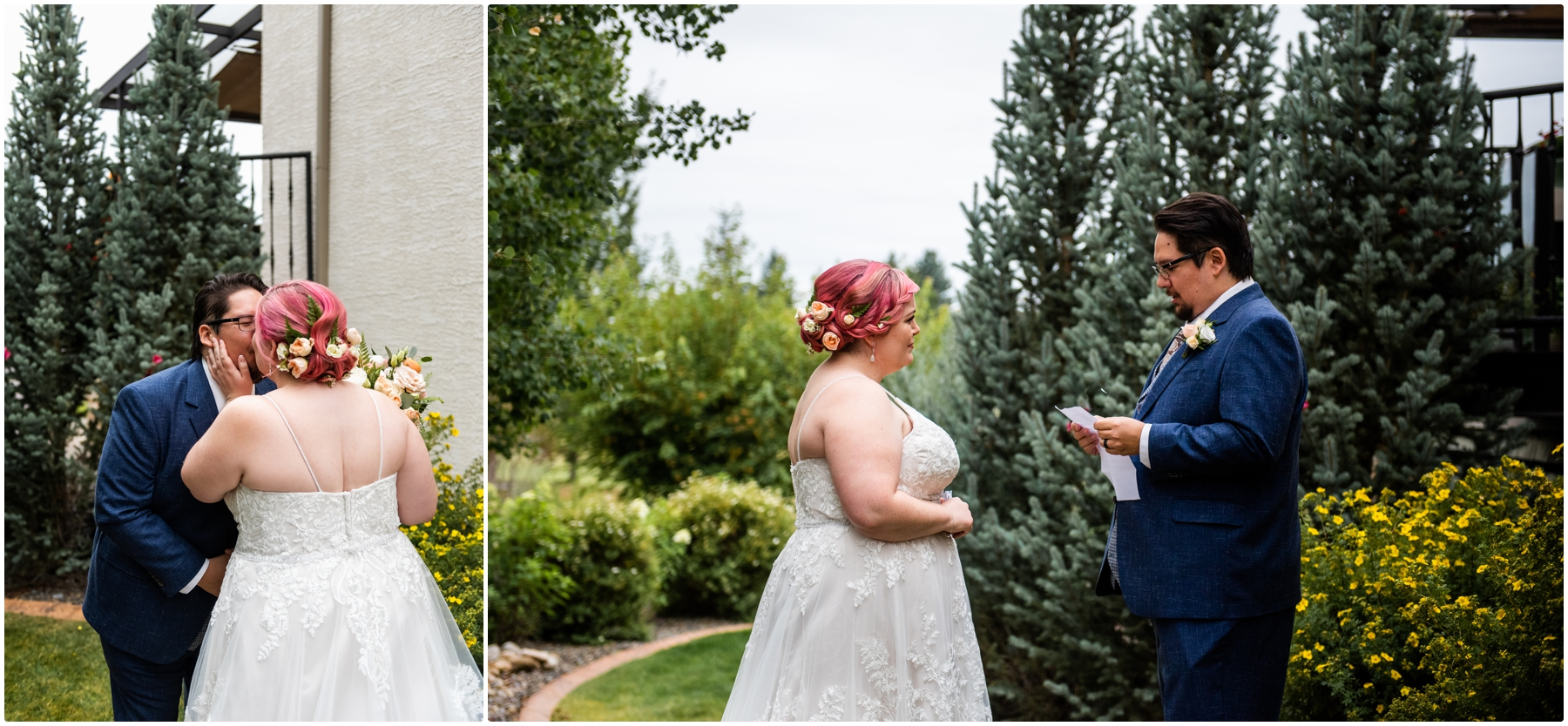 Calgary Alberta Intimate Wedding Photographers