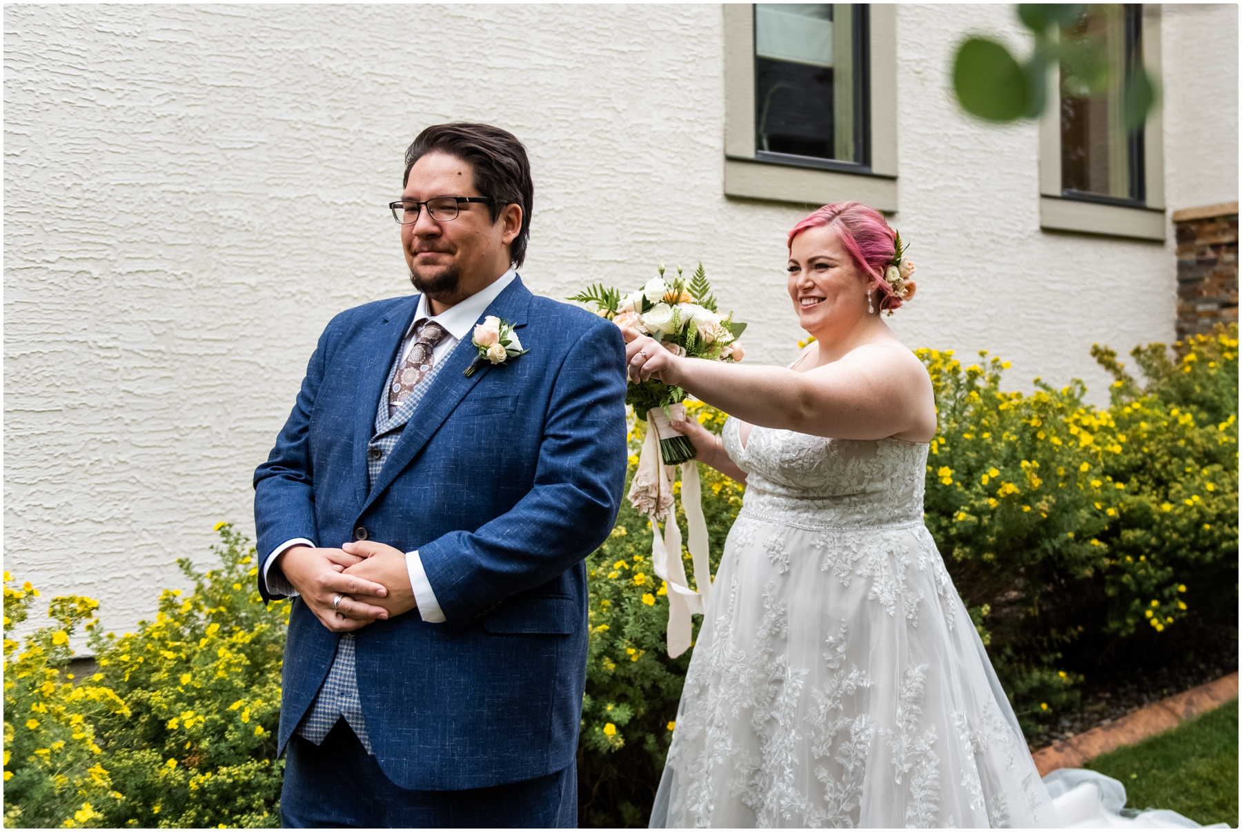Calgary Alberta Intimate Wedding Photos