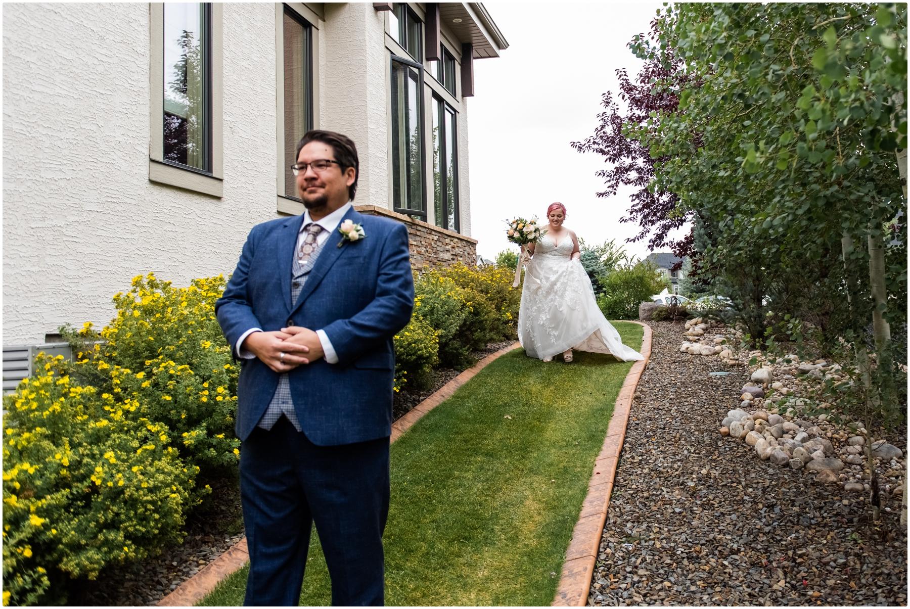 Calgary Alberta Intimate Wedding
