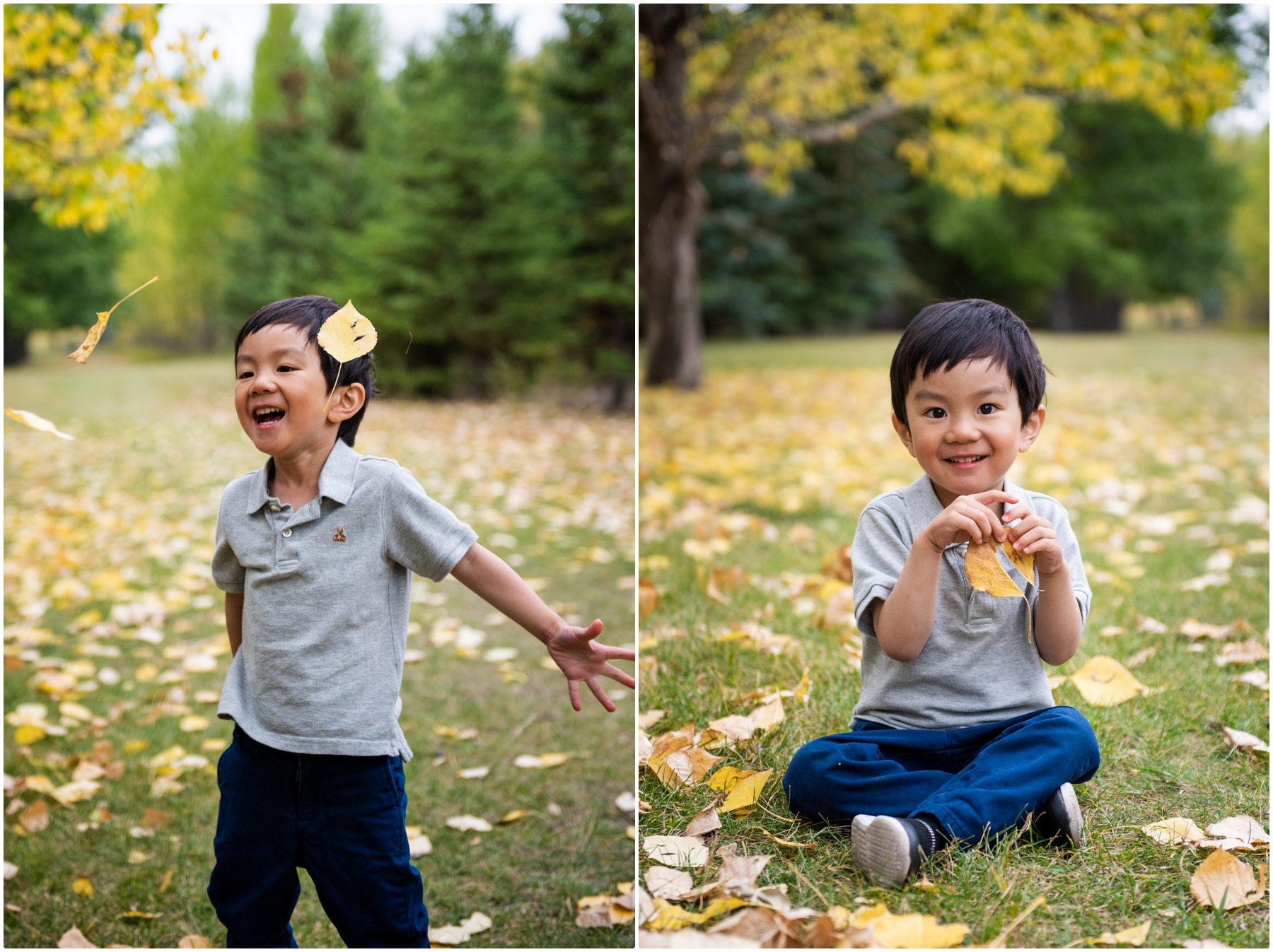 Calgary Autumn Family Photographer