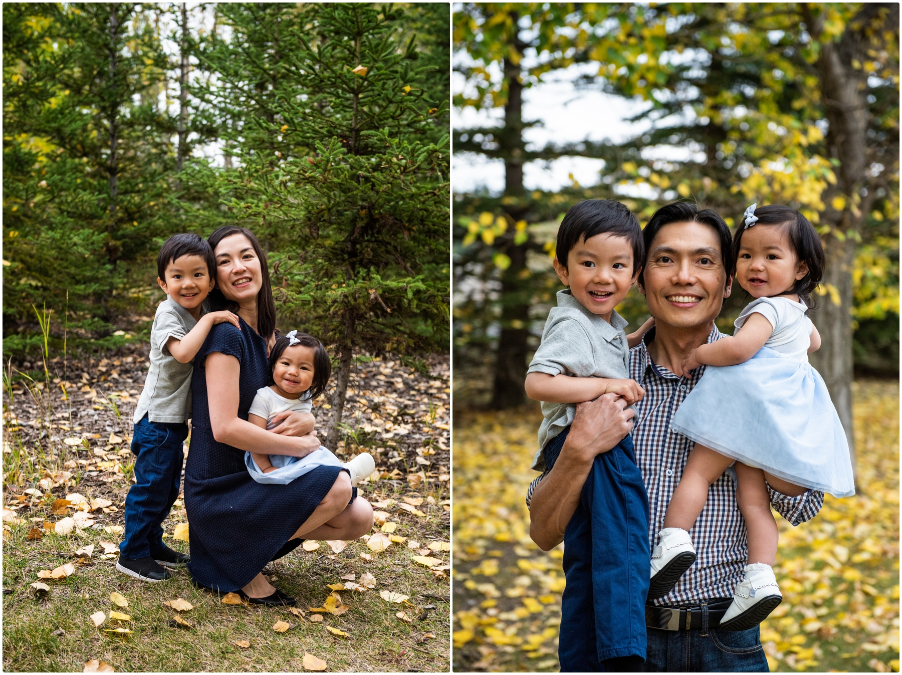 Calgary Autumn Family Photography