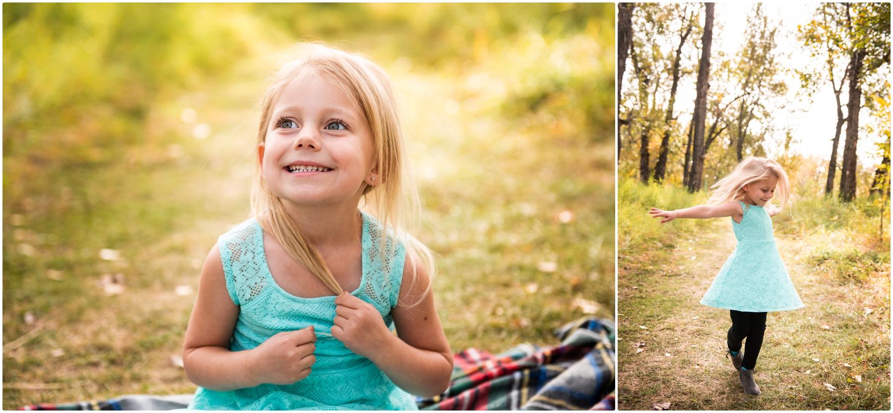 Calgary Autumn Pearce Estate Park Family Photographer