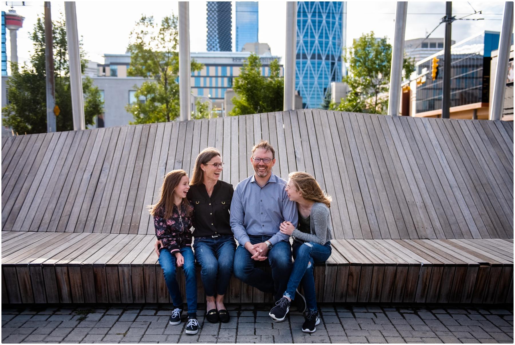 Calgary East Village Family Photographer