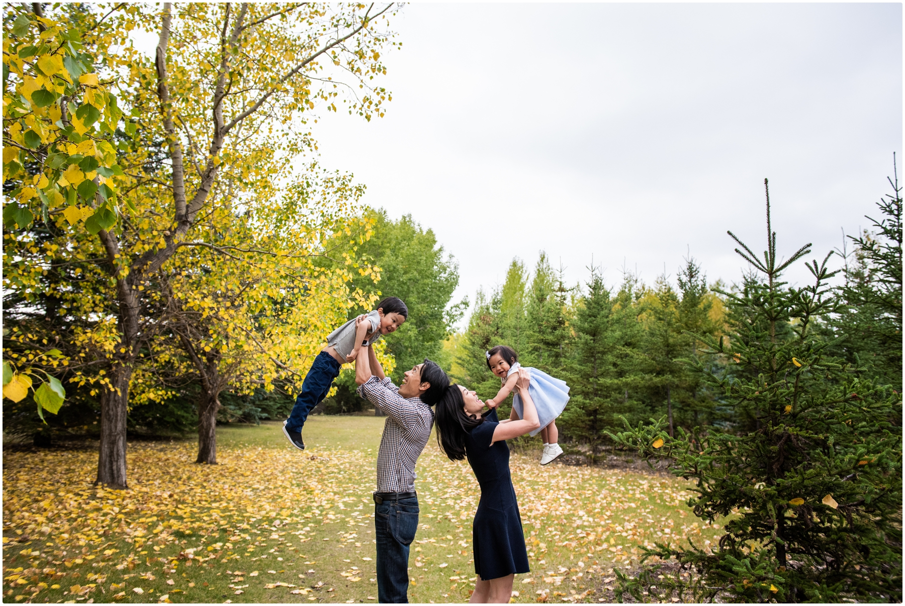 Calgary Fall Children Photographer