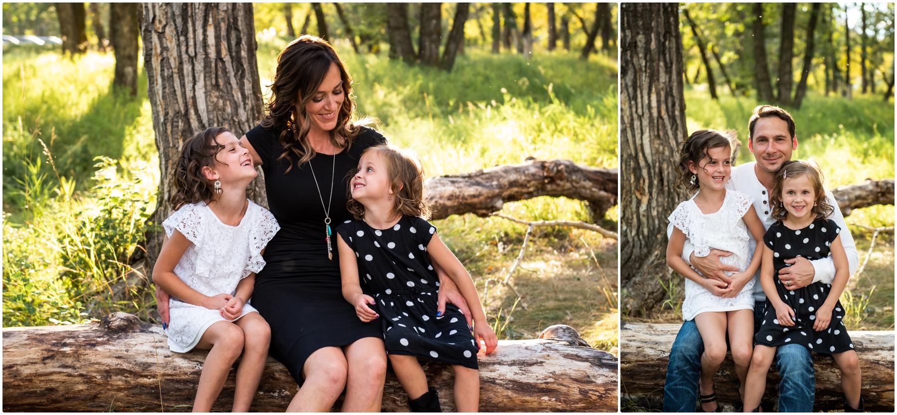 Calgary Fishcreek Park Fall Family Photographer