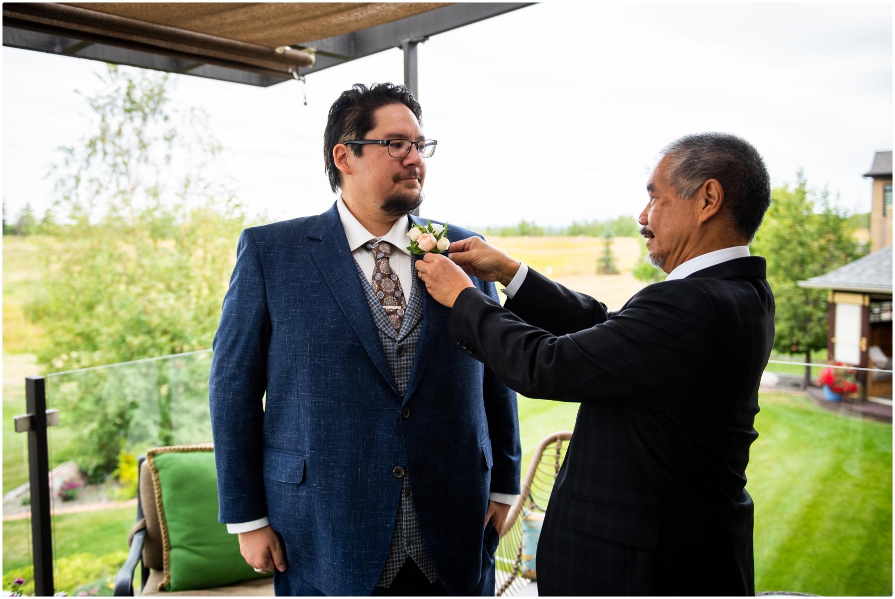Calgary Intimate Wedding Photography