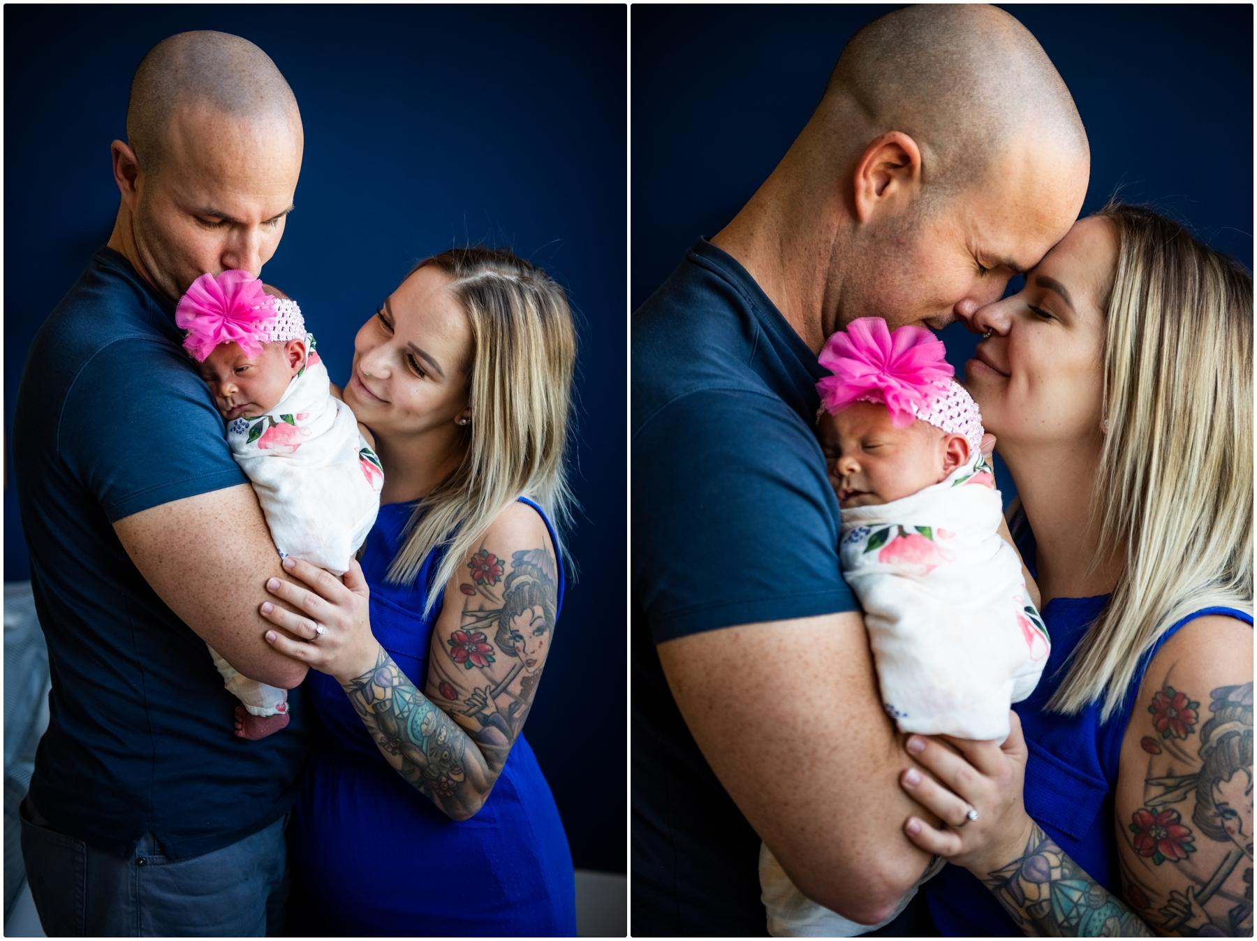 Calgary Lifestyle Newborn Photography