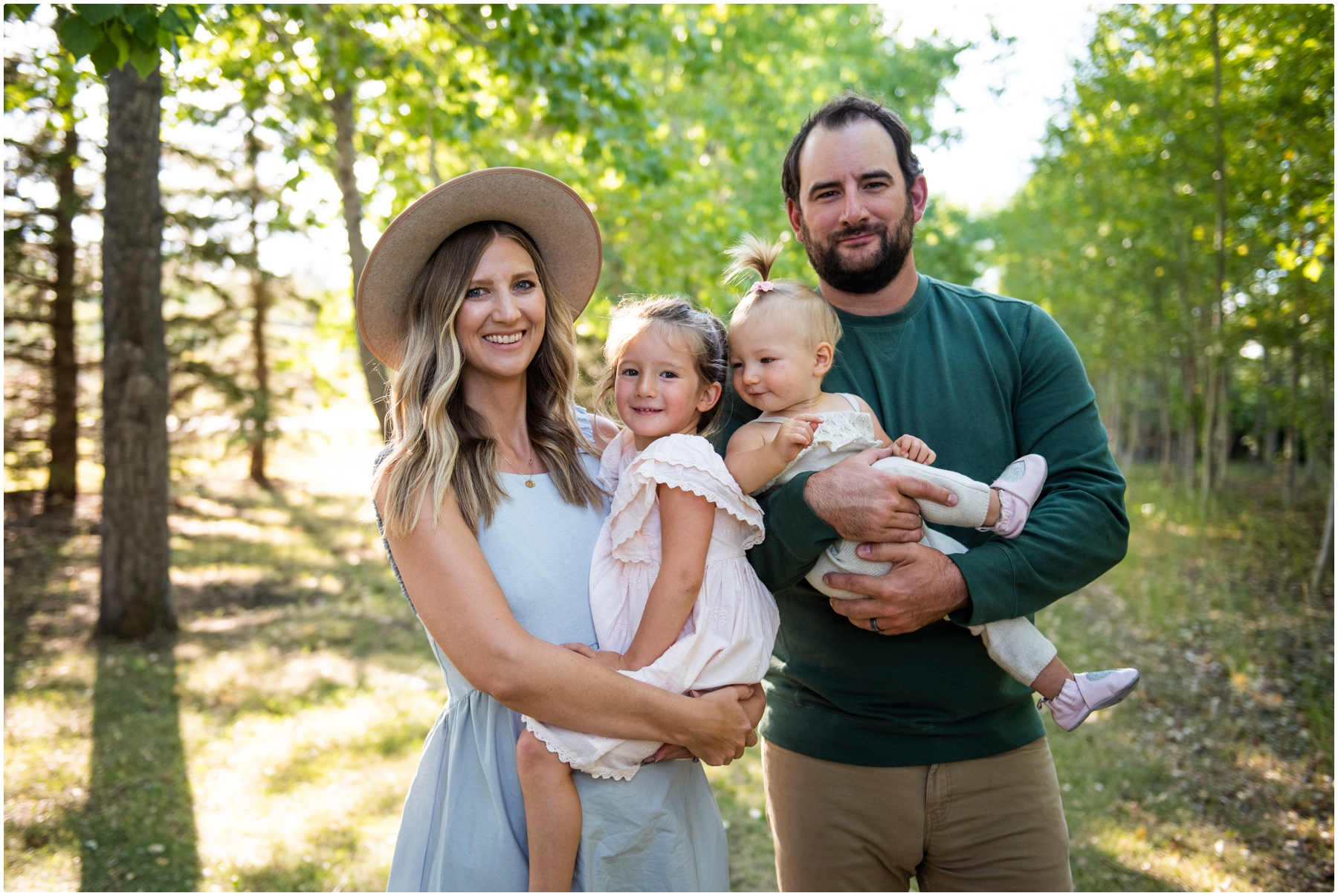 Calgary Sunset Family Photographer