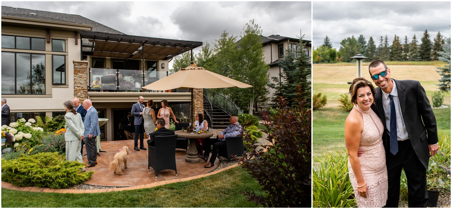Calgary Wedding Photographers - Garden Party Wedding