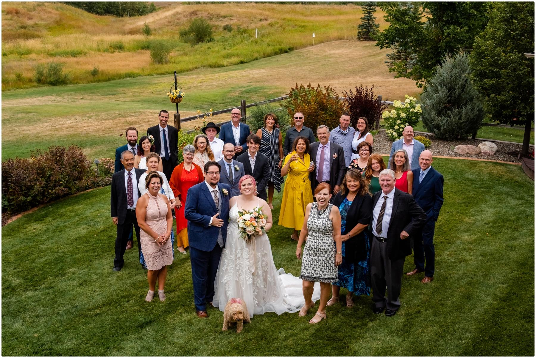 Calgary Wedding Photos - Garden Party Wedding Photos