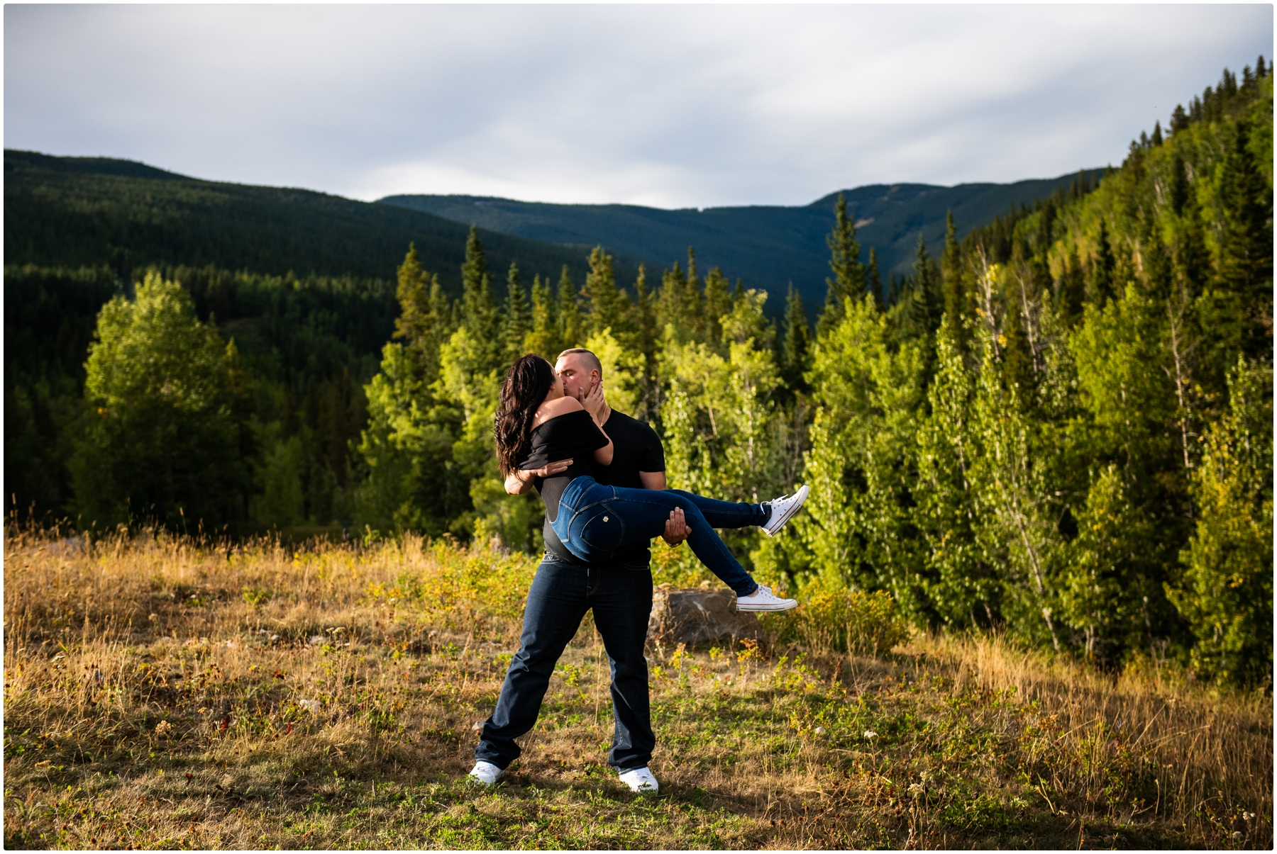Elbow Falls Engagement Photography - Calgary Wedding Photographer