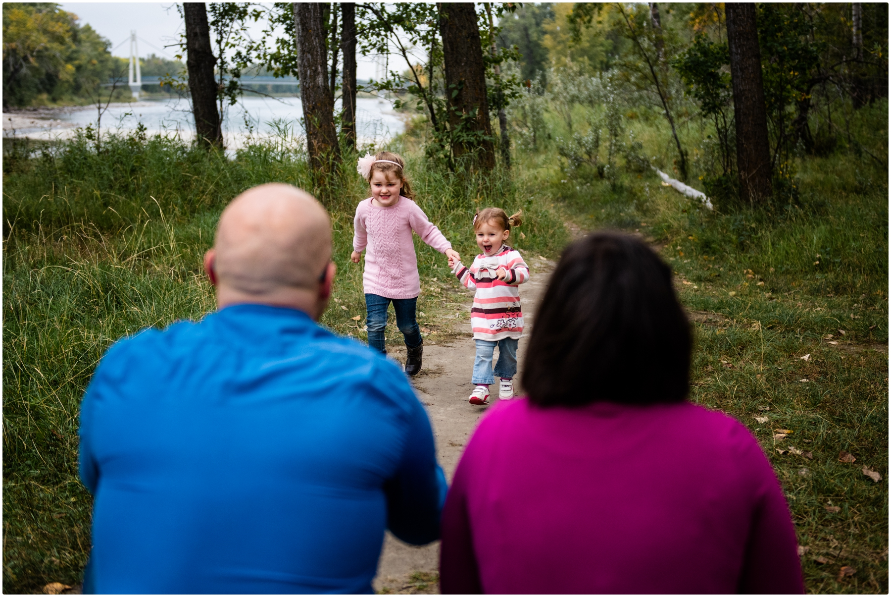 Fall Family Photos Calgary - Carburn Park
