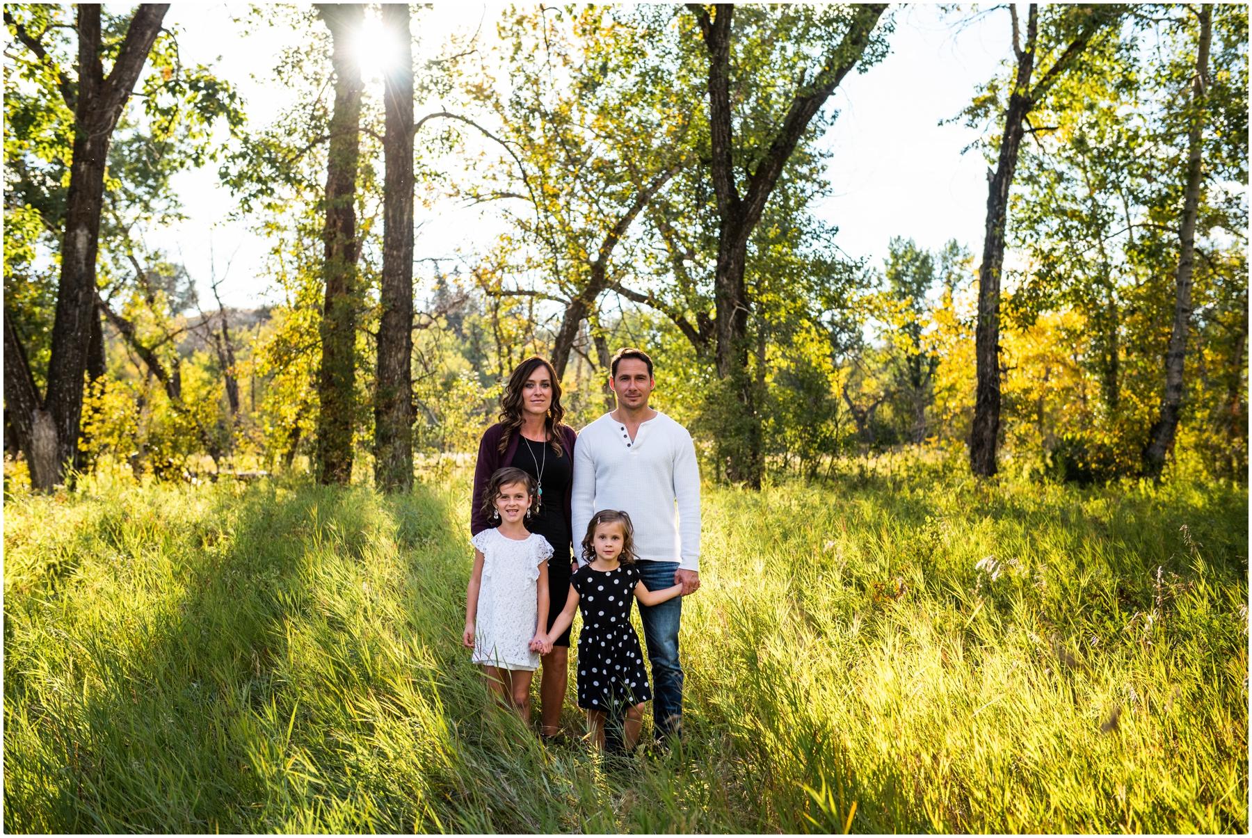 Fall Family Photos Calgary