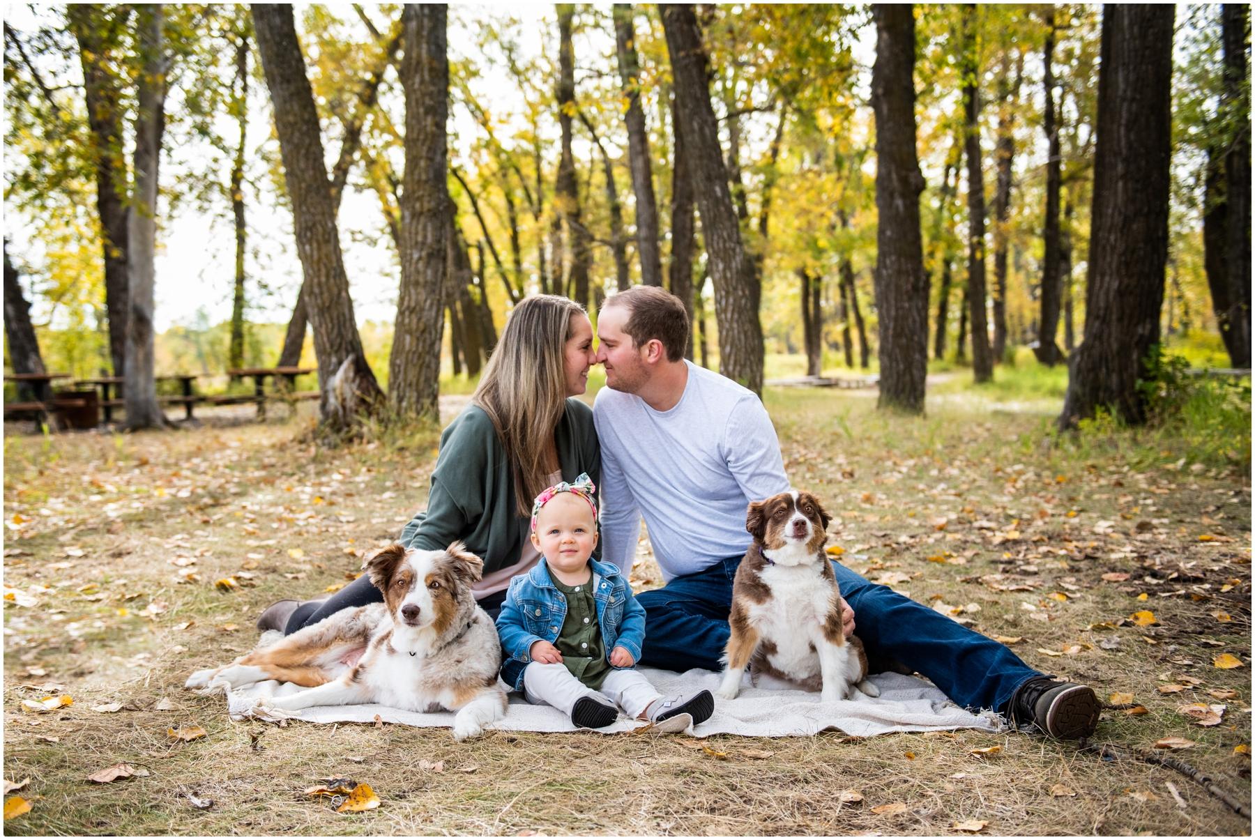 Fall Family Photos Clagary